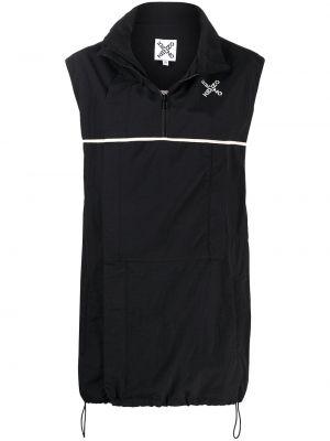 Платье трапеция - черное Kenzo