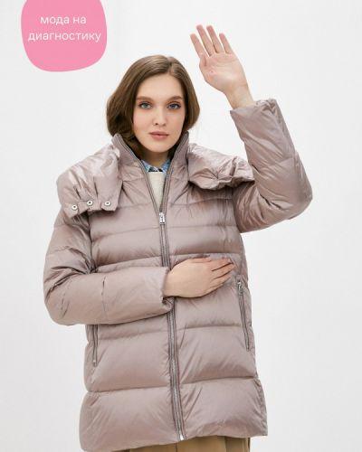 Бежевая куртка снежная королева