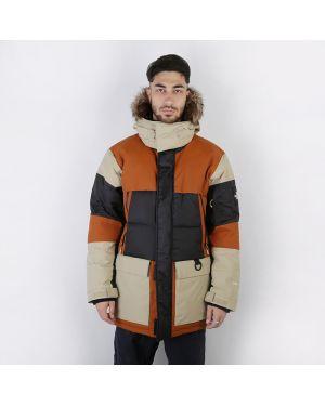 Куртка нейлоновая коричневый The North Face