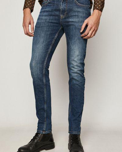 Хлопковые синие джинсы с карманами Medicine