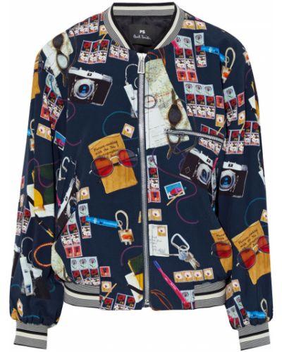 Синяя облегченная куртка Ps Paul Smith