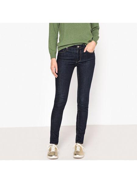 Пляжные джинсы с высокой посадкой с заклепками с карманами с пайетками Reiko