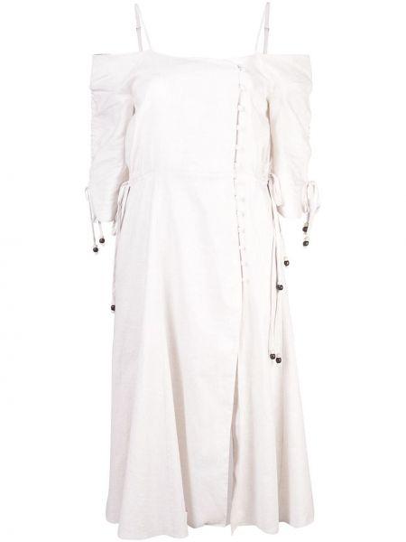 Платье на бретелях Jonathan Simkhai