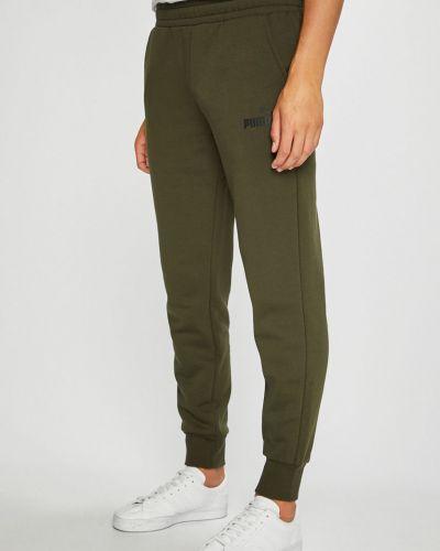 Спортивные брюки трикотажные с поясом Puma