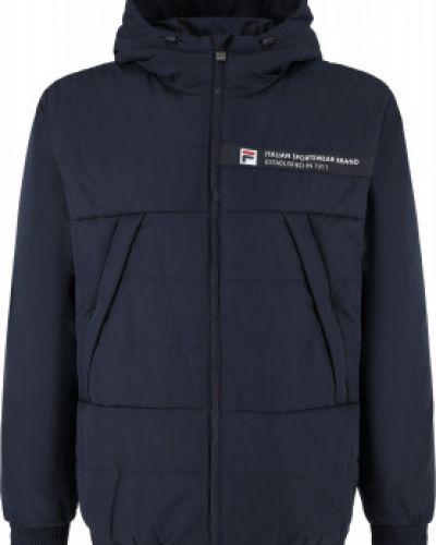 Куртка с капюшоном - синяя Fila