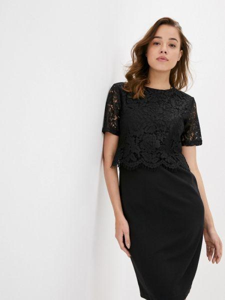 Вечернее платье черное весеннее Incity