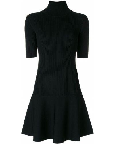 Платье мини в рубчик из вискозы Michael Michael Kors