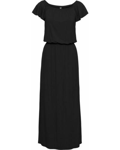 Платье с разрезами по бокам с вырезом Bonprix