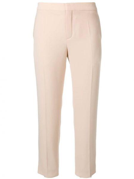 Укороченные брюки с карманами Chloé