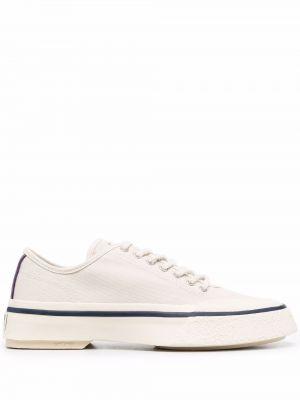 Кроссовки на шнуровке - белые Eytys