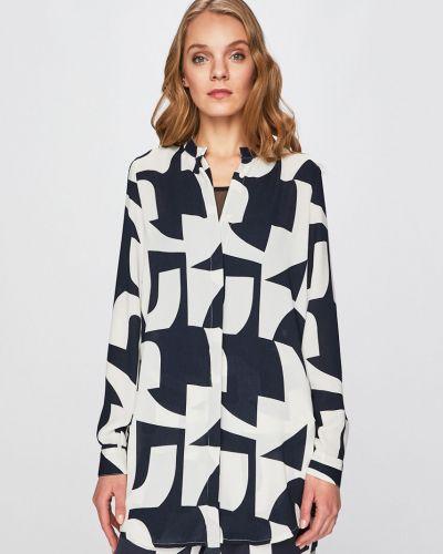 Блузка с длинным рукавом с воротником-стойкой прямая Vero Moda