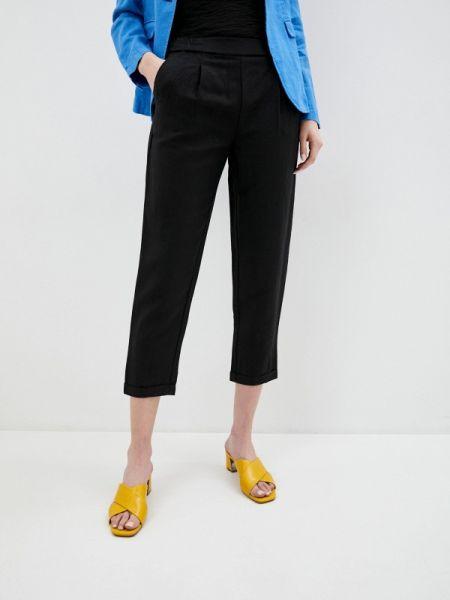 Черные брюки Sisley