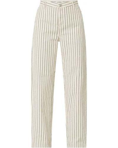 Spodnie bawełniane - białe Carhartt Work In Progress