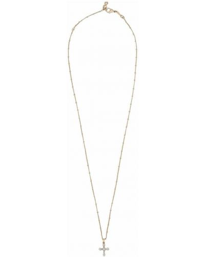 Naszyjnik łańcuch - żółty Dolce And Gabbana