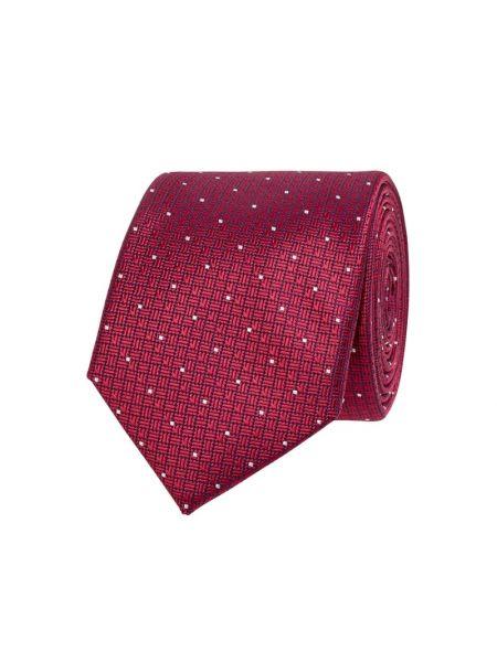 Różowy krawat z jedwabiu Jake*s
