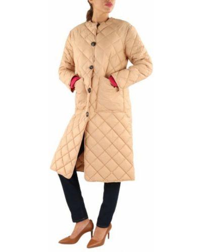 Beżowy płaszcz Maliparmi