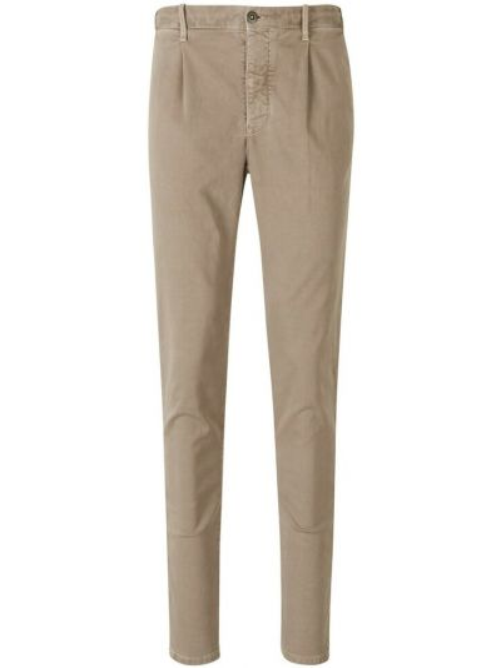 Beżowe spodnie Incotex