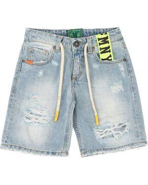 Синие джинсовые шорты Fred Mello