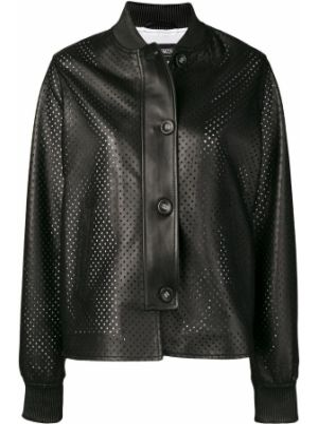 Черная куртка из овчины Simonetta Ravizza