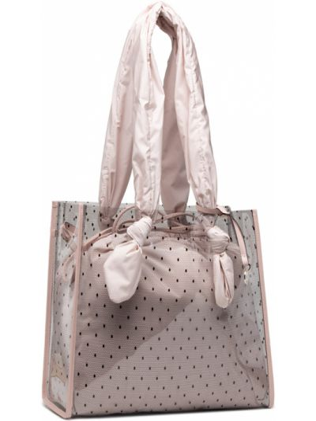Różowa klasyczna torebka Red Valentino