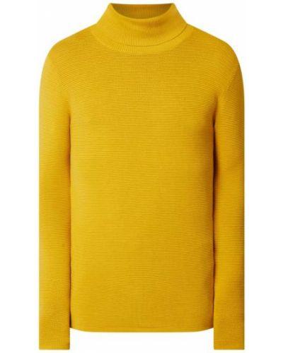 Sweter bawełniany - żółty Redefined Rebel