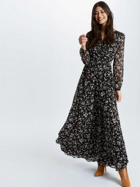 Платье прямое черное Morgan