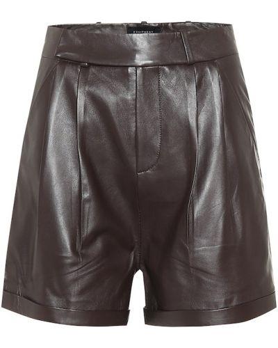Однобортные черные шорты Equipment