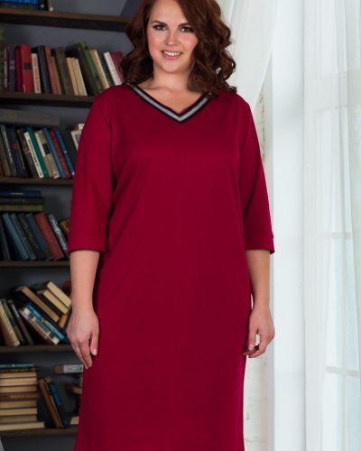 Платье с V-образным вырезом азалия