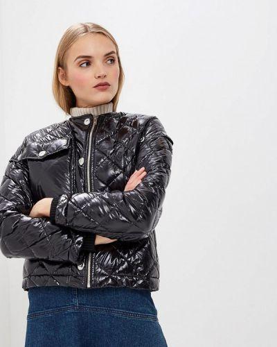 Зимняя куртка осенняя черная Sonia Rykiel