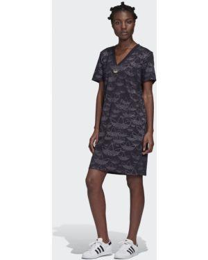 Платье с принтом Adidas