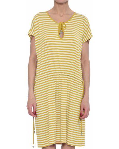 Желтое платье Marina Yachting