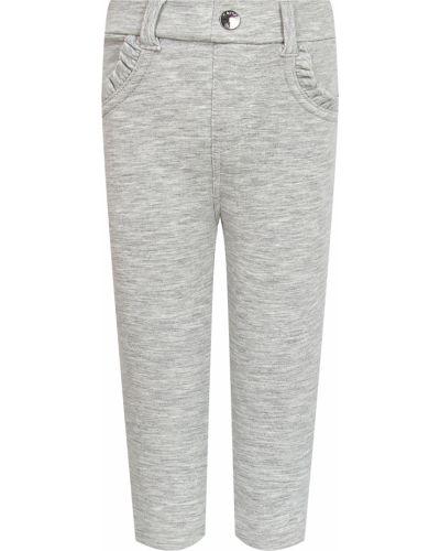 Серые хлопковые брюки Mayoral