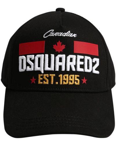 Kapelusz z haftem z haftem Dsquared2