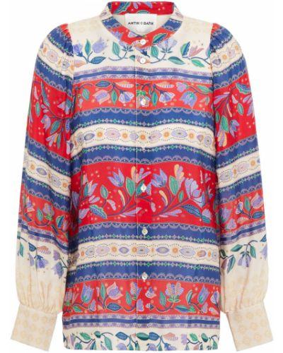 Koszulka z jedwabiu Antik Batik