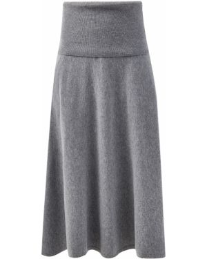 Теплая юбка - серая Stella Mccartney