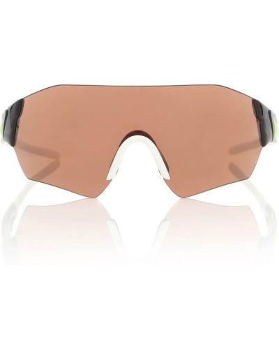 Okulary przeciwsłoneczne dla wzroku sport brązowy Marine Serre