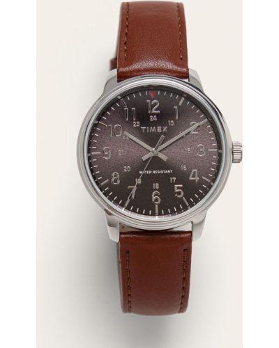 Часы водонепроницаемые универсальный коричневый Timex