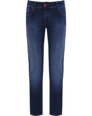 Прямые джинсы на пуговицах с карманами Jacob Cohen