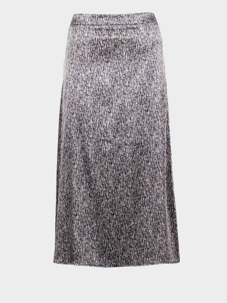 Повседневная юбка - серебряная Mexx