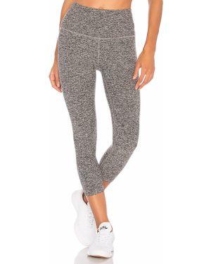Spodnie z wysokim stanem elastyczne na jogę Beyond Yoga