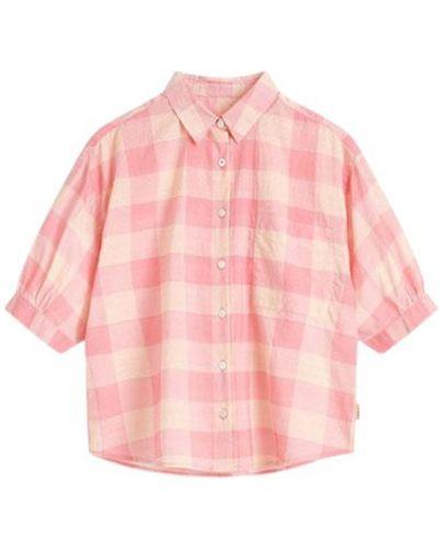 Różowa koszula nocna Bellerose