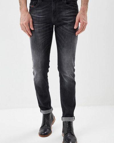 Серые джинсы-скинни Diesel