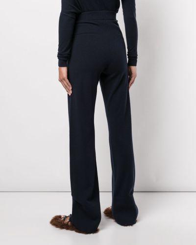 Шерстяные брюки - синие Altuzarra