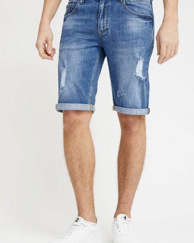 Джинсовые шорты турецкий синий Mossmore