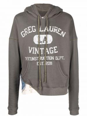 Zielona bluza bawełniana Greg Lauren