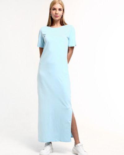 Повседневное прямое платье с разрезом F5