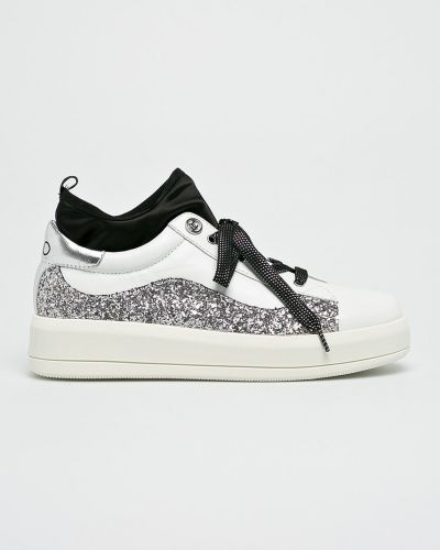 Кроссовки на платформе текстильные Liu Jo