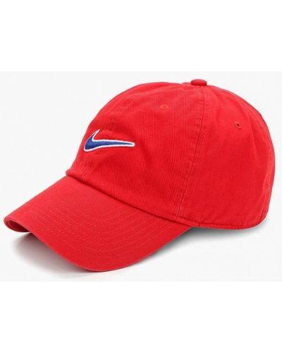 Бейсболка красная Nike