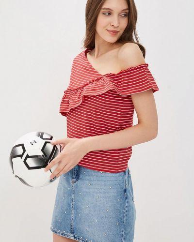Красная блузка с рюшами Ovs