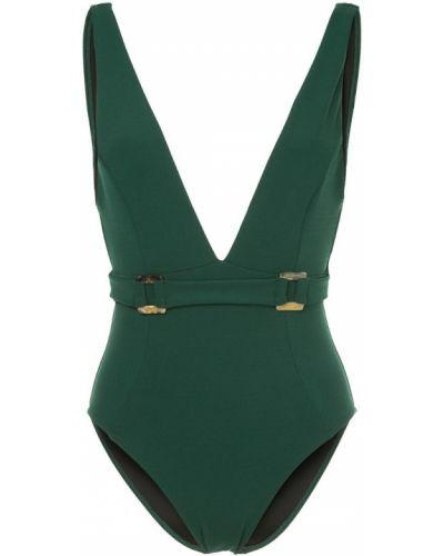 Слитный купальник - зеленый Suboo